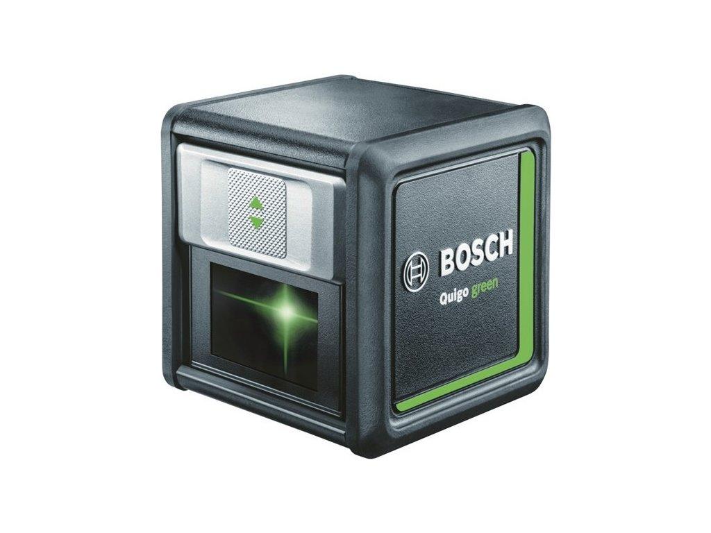 Křížový laser Bosch Quigo green