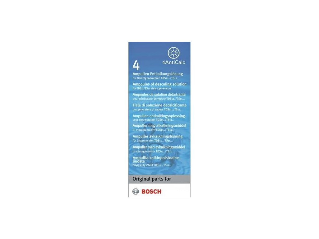 Odvápňovač Bosch TDZ 1101