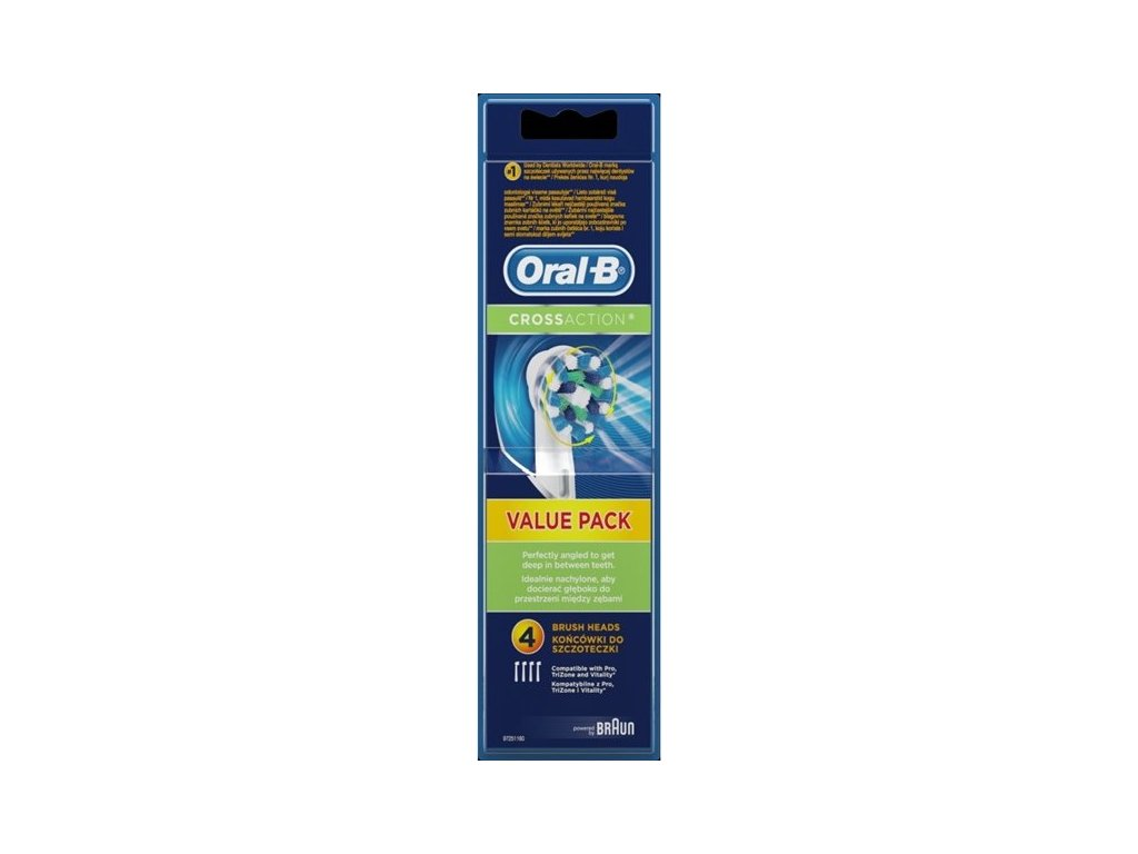 Náhradní kartáček Oral-B EB 50-4 Cross Action