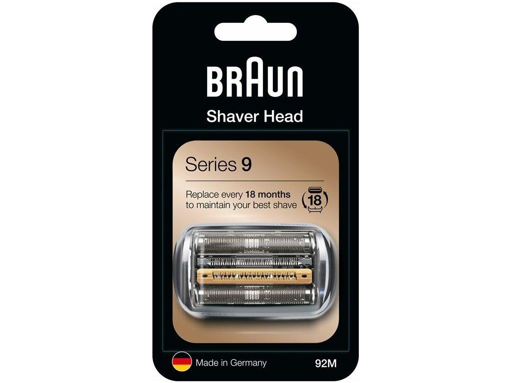 CombiPack Braun Series 9-92M Matt silver