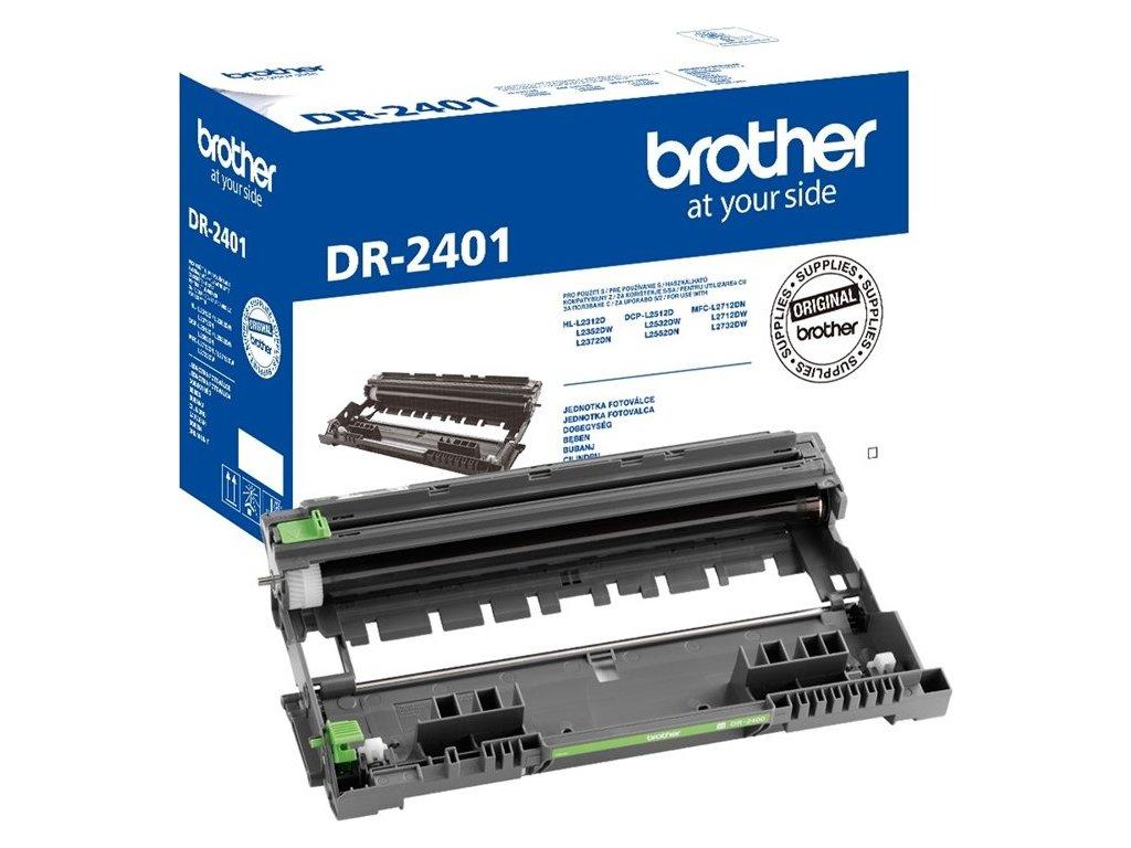 Válec Brother DR-2401, optický, 12 000 stran - černý