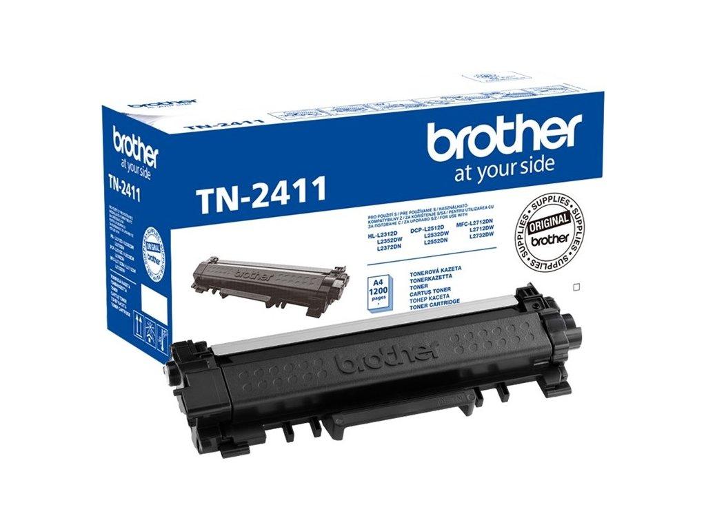 Toner Brother TN-2411, 1200 stran originální - černý