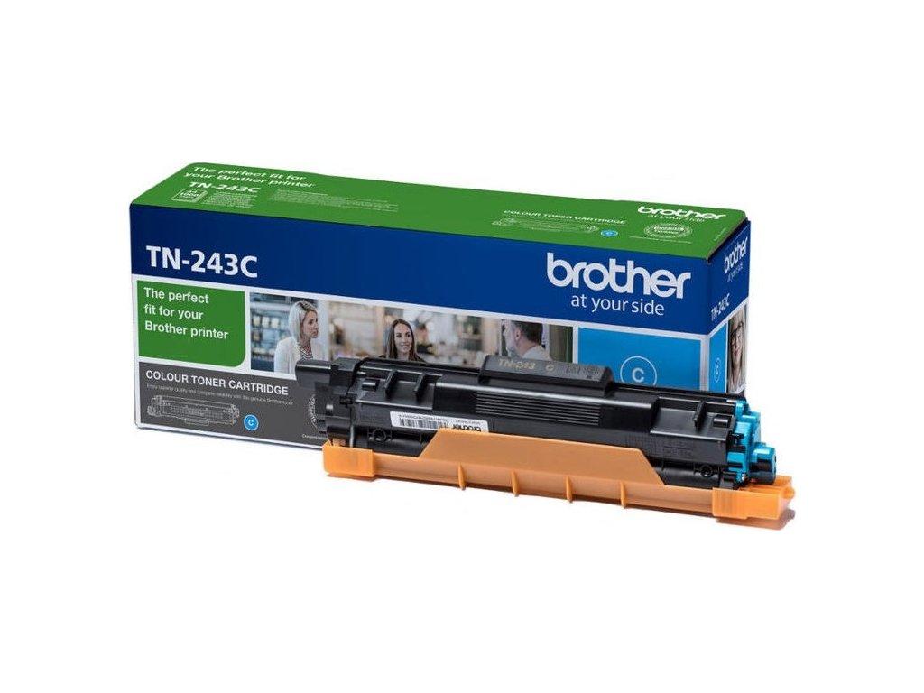 Toner Brother TN-243C, 1000 stran - modrý