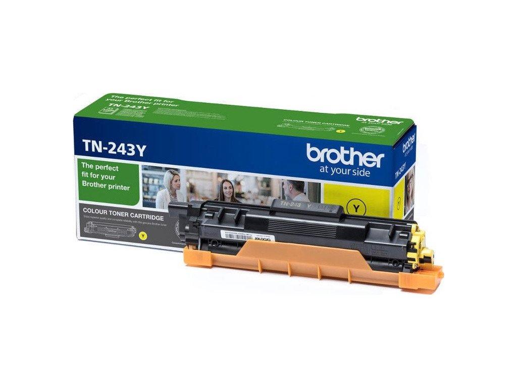 Toner Brother TN-243Y, 1000 stran - žlutý