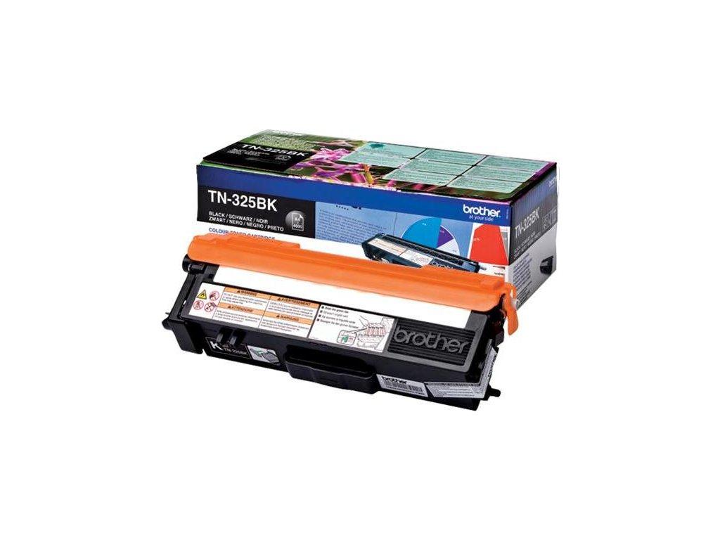 Toner Brother TN-325BK, 4000 stran originální - černý