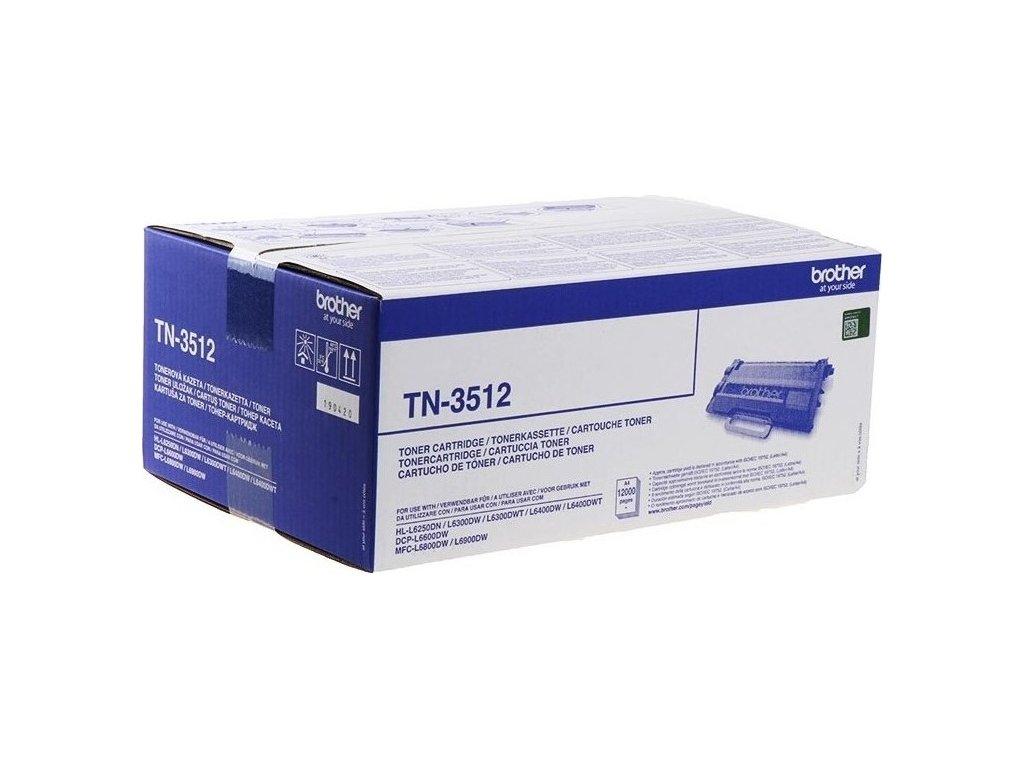 Toner Brother TN-3512, 12000 stran - černý