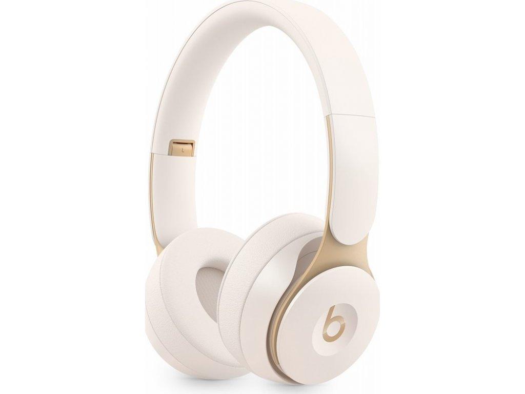 Sluchátka Beats Solo Pro Wireless Noise Cancelling - slonovinově bílá