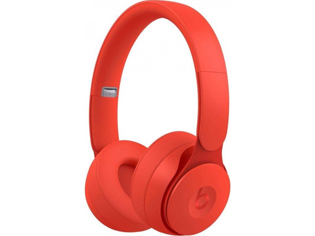 Sluchátka Beats Solo Pro Wireless Noise Cancelling- More Matte Collection - červená