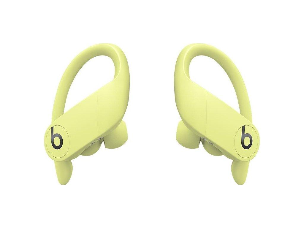 Sluchátka Beats Powerbeats Pro - jarně žlutá