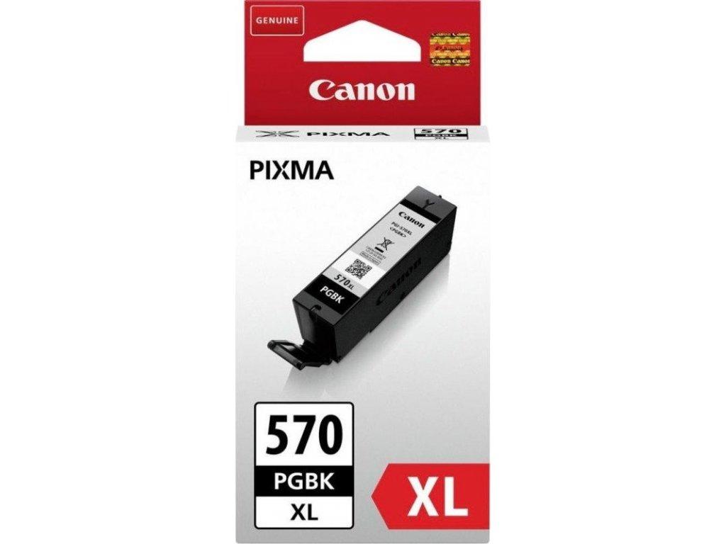 Inkoustová náplň Canon PGI-570XL PGBK - černý