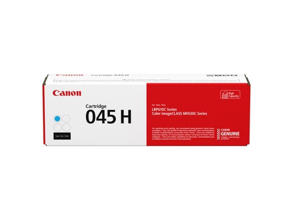 Toner Canon CRG 045 H C, 2200 stran, originální - modrý