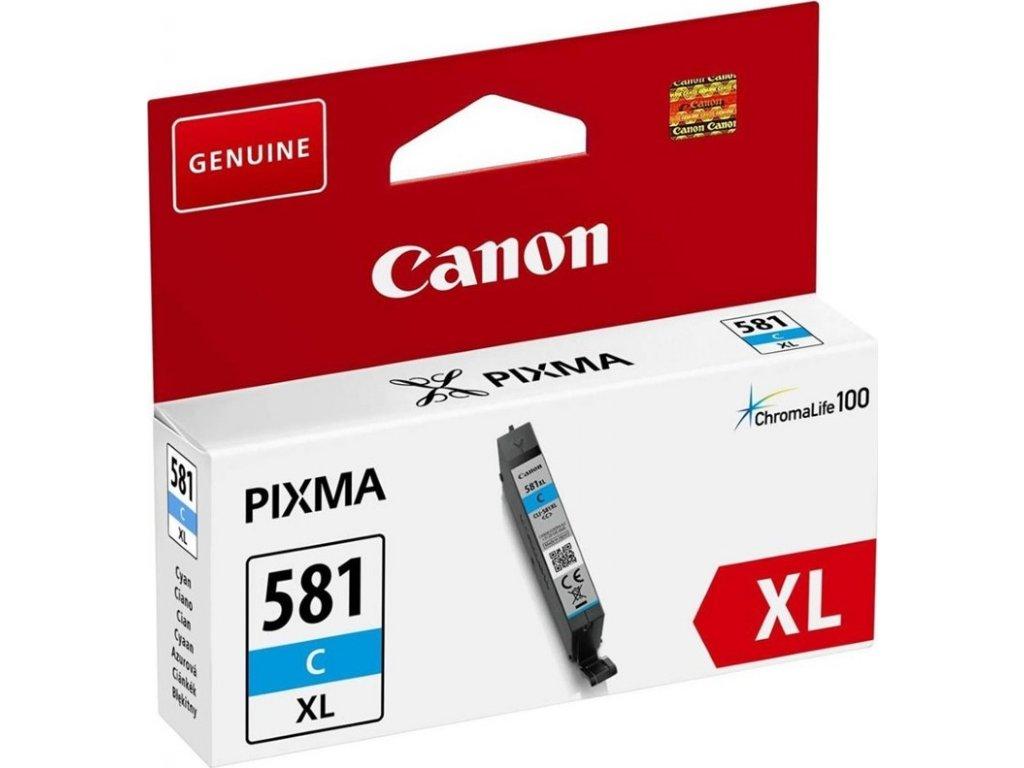 Inkoustová náplň Canon CLI-581XL C originální