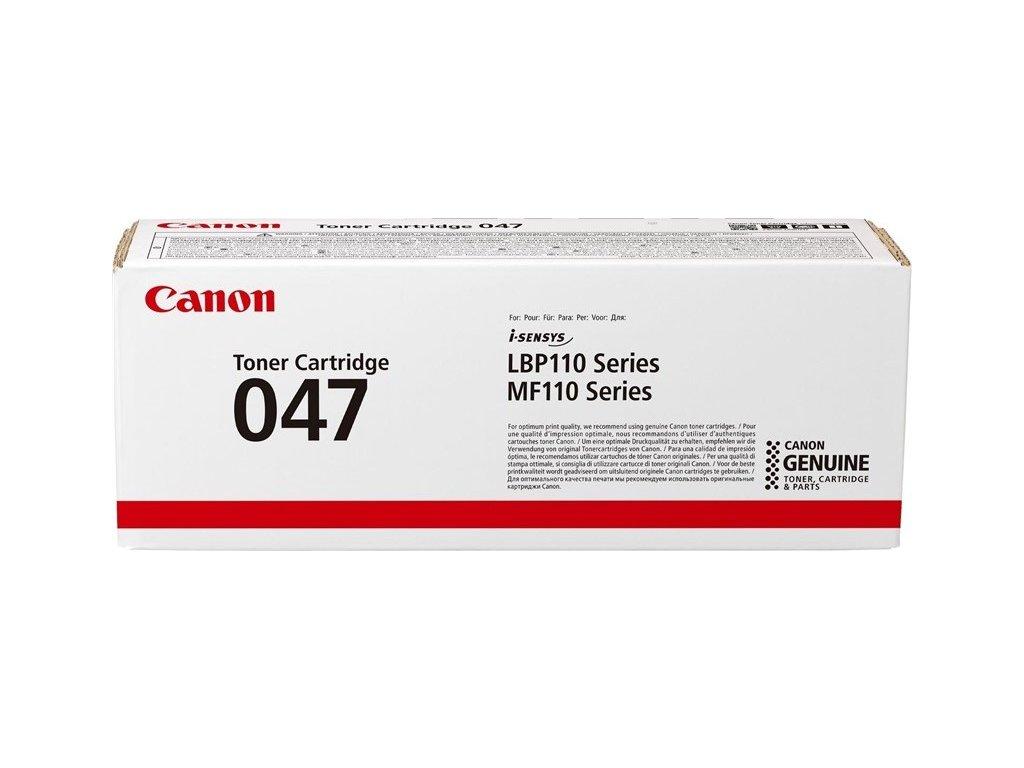 Toner Canon CRG 047, 1600 stran originální - černý
