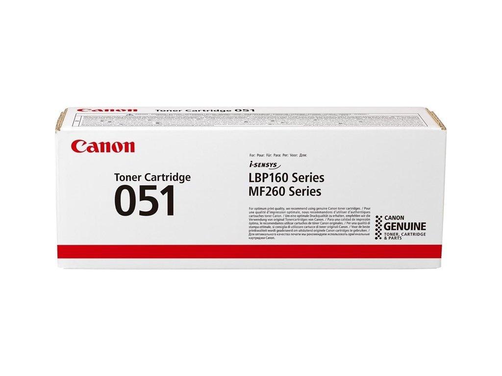 Toner Canon CRG 051, 1700 stran - černý