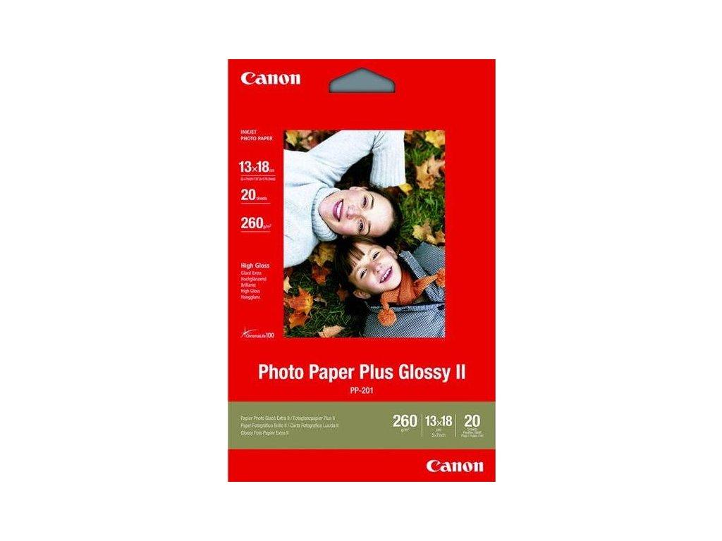 Fotopapír Canon PP201, 13x18 cm, 20 listů