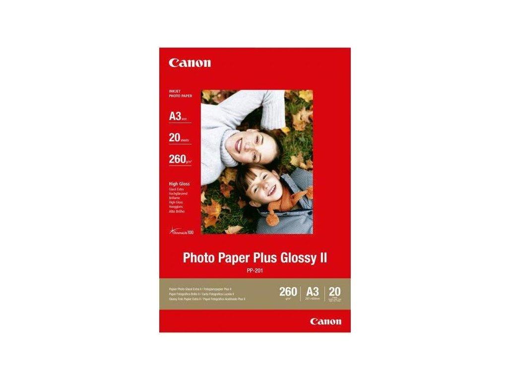 Fotopapír Canon PP201 A3, 20 listů