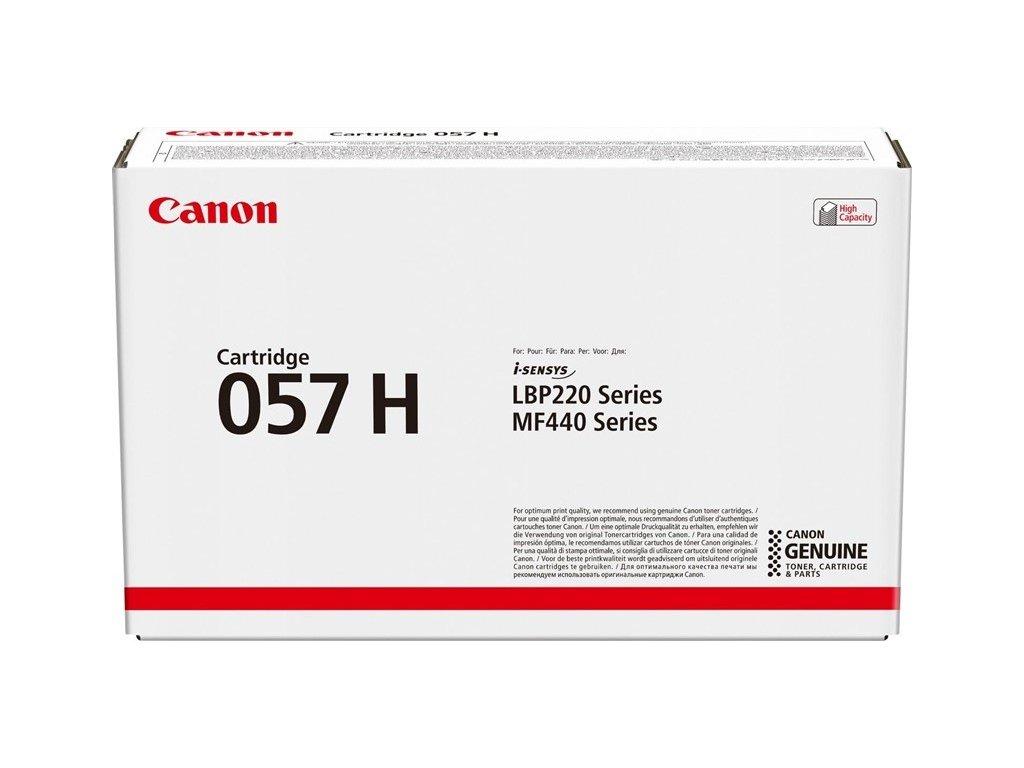 Toner Canon CRG 057 H, 10 000 stran originální - černý