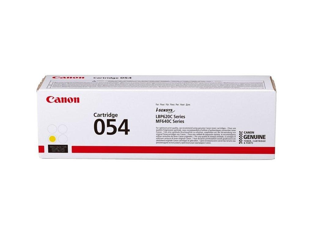 Toner Canon CRG 054, 1200 stran originální - žlutý