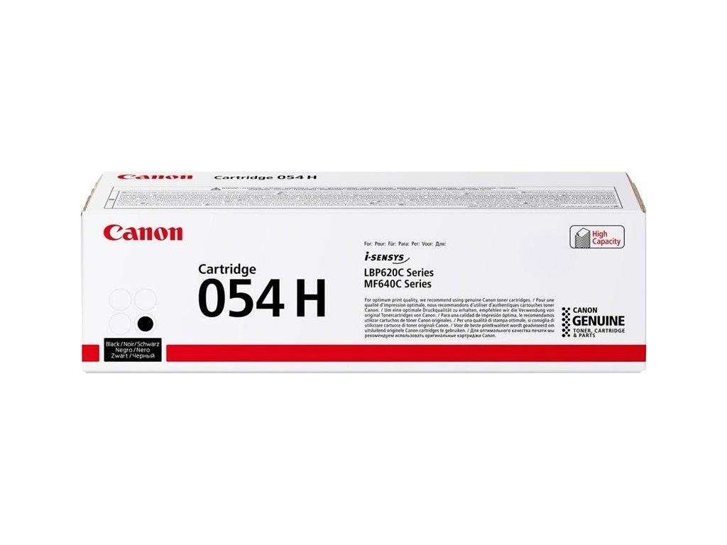 Toner Canon CRG 054 H, 3100 stran originální - černý