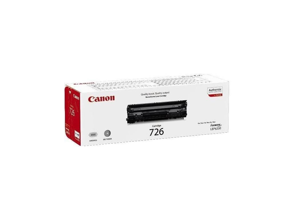 Toner Canon CRG-726, 2100 stran originální - černá