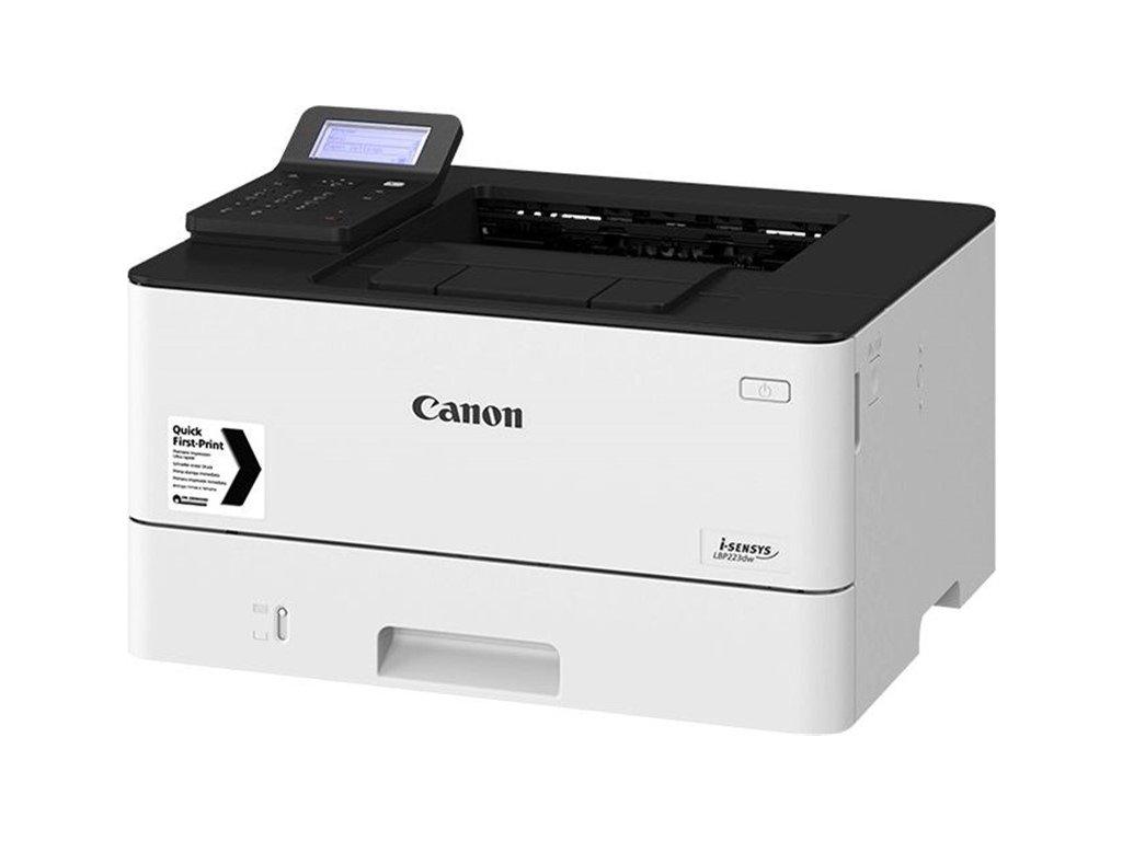 Tiskárna laserová Canon i-SENSYS LBP226dw A4, 38str./min, 600 x 600, 1 GB,