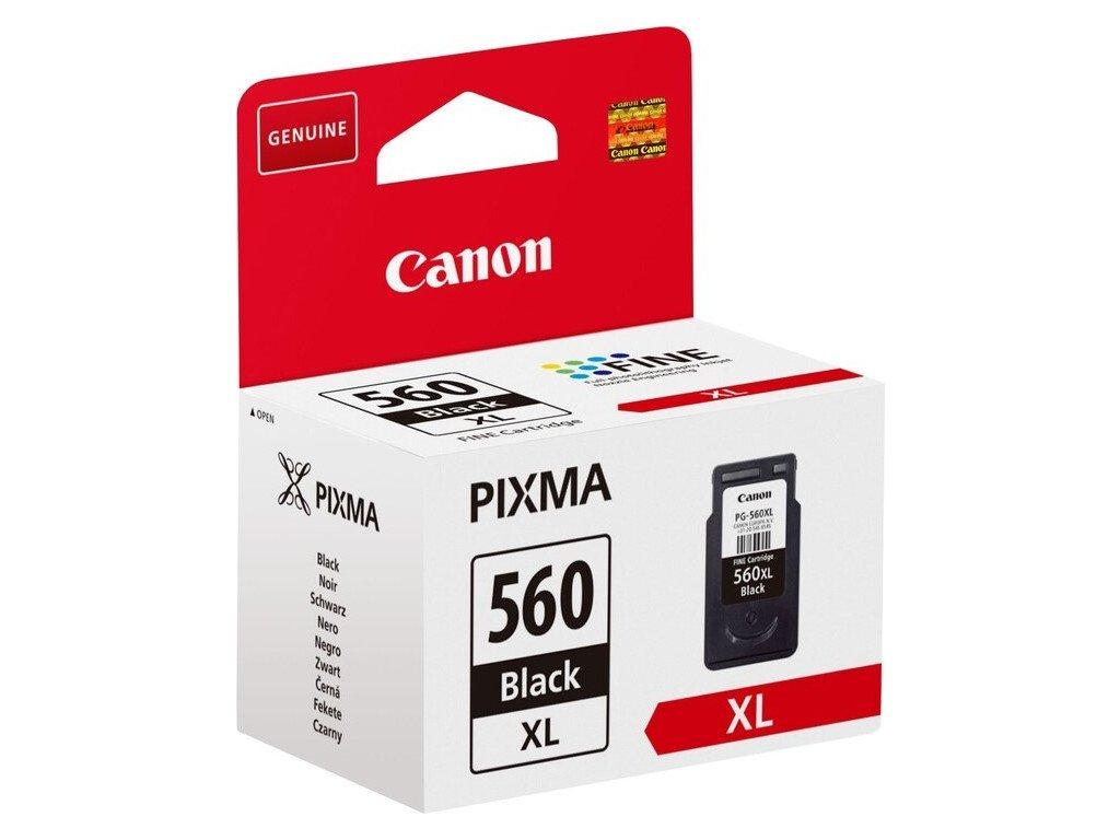 Inkoustová náplň Canon PG-560XL, 400 stran - černá
