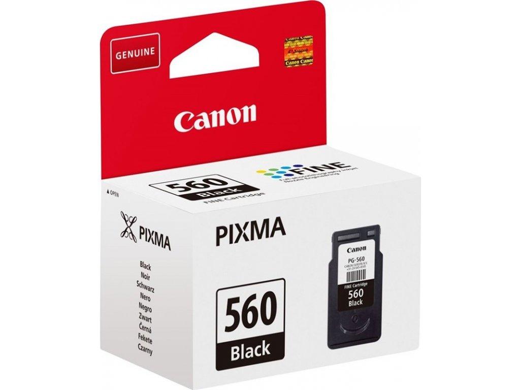 Inkoustová náplň Canon PG-560, 180 stran - černá