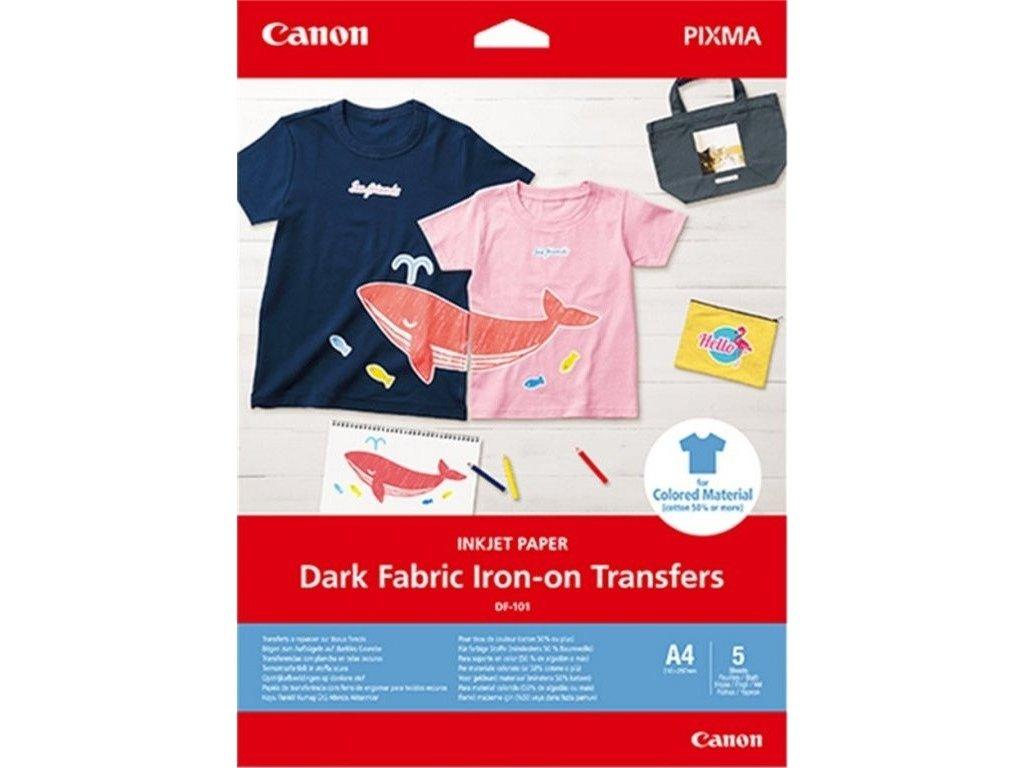 Nažehlovací fólie Canon DF-101 pro tmavý textil