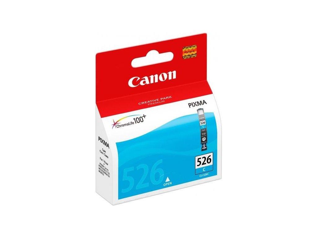 Inkoustová náplň Canon CLI-526C, 9ml  originální - modrá