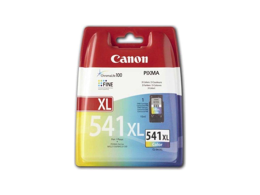 Inkoustová náplň Canon CL-541 XL, 400 stran originální - CMY