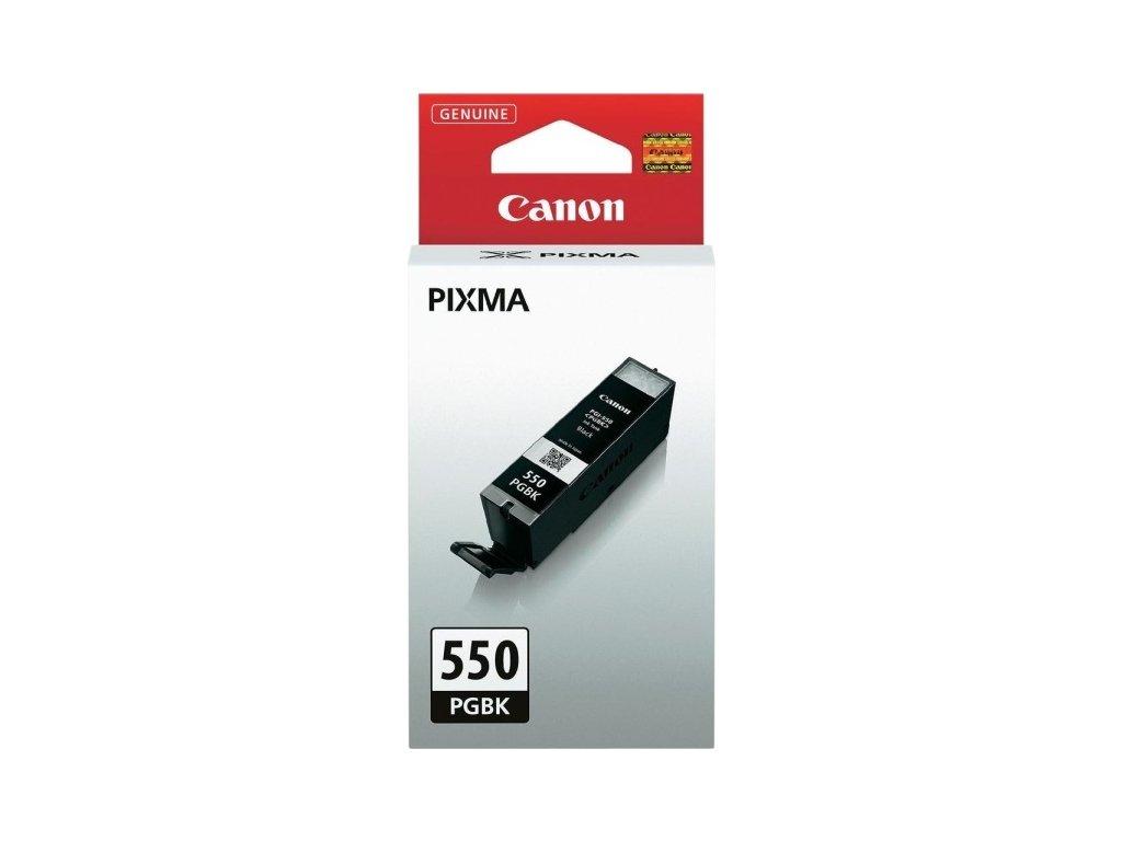Inkoustová náplň Canon PGI-550 PGBK, 300 stran originální - černá