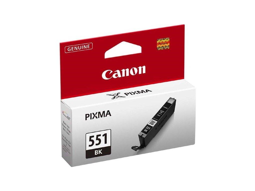 Inkoustová náplň Canon CLI-551Bk, 1105 stran originální - černá
