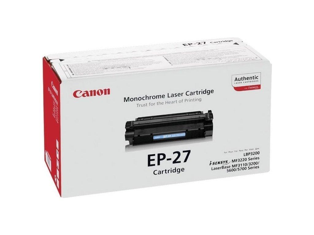 Toner Canon EP-27, 2500 stran originální - černý