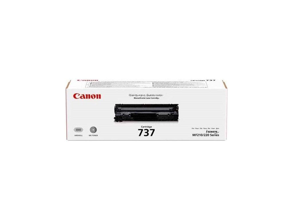 Toner Canon CRG 737 černý