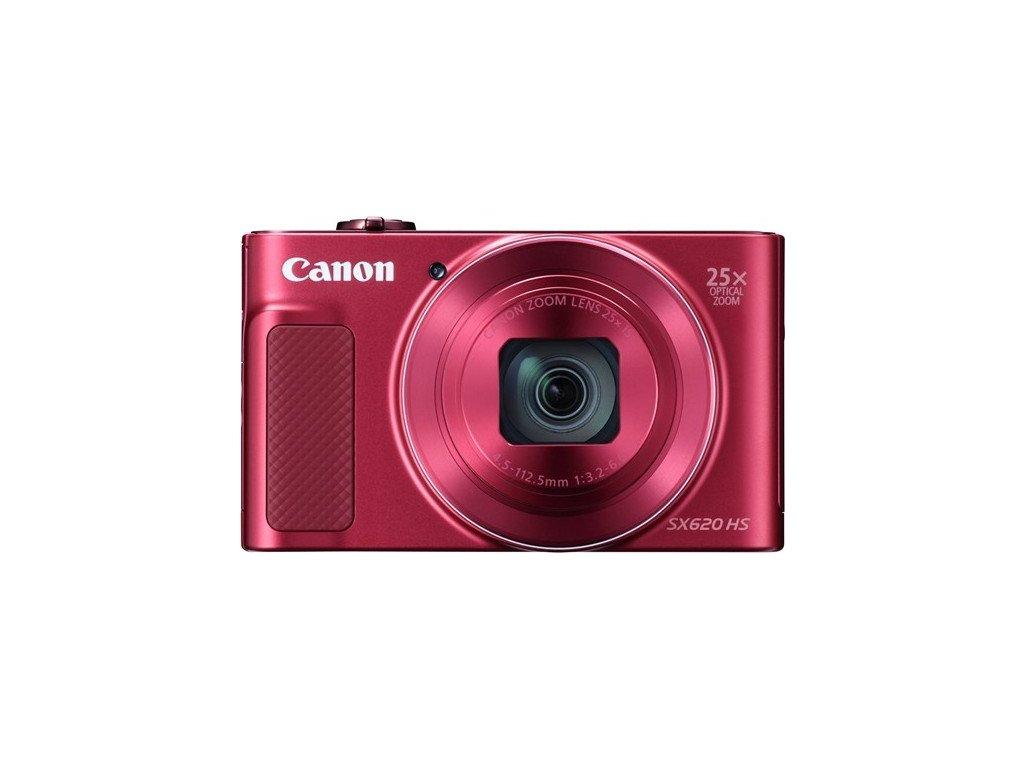 Fotoaparát Canon PowerShot SX620 HS, červený