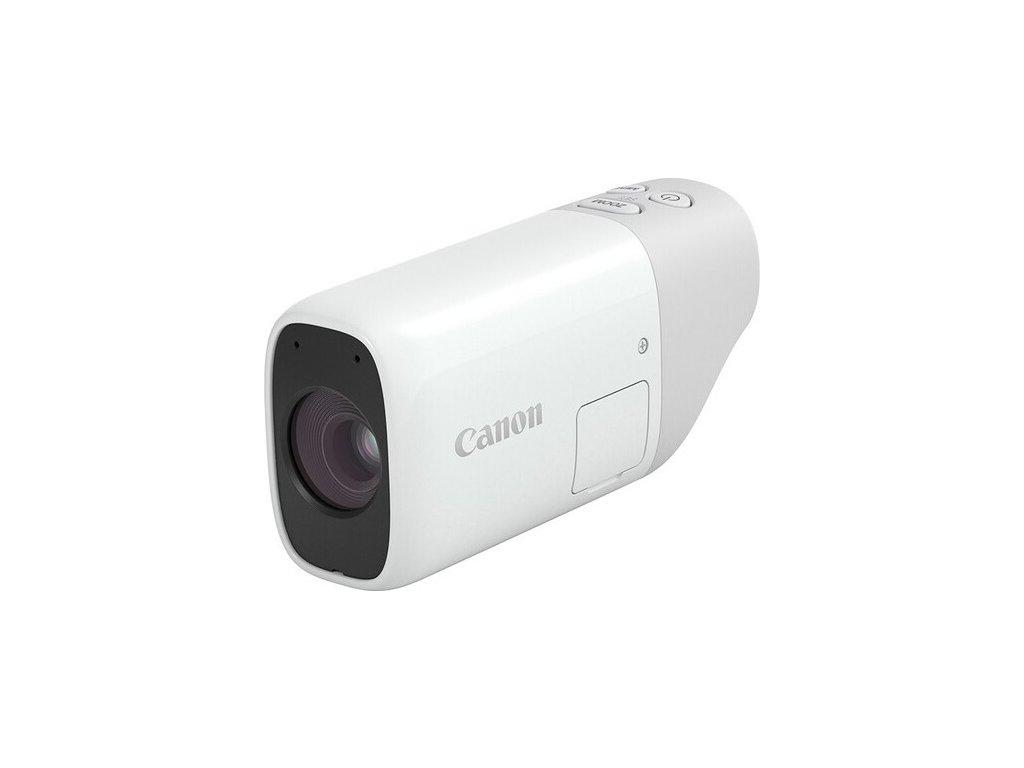 Fotoaparát Canon PowerShot ZOOM, bílá/šedá