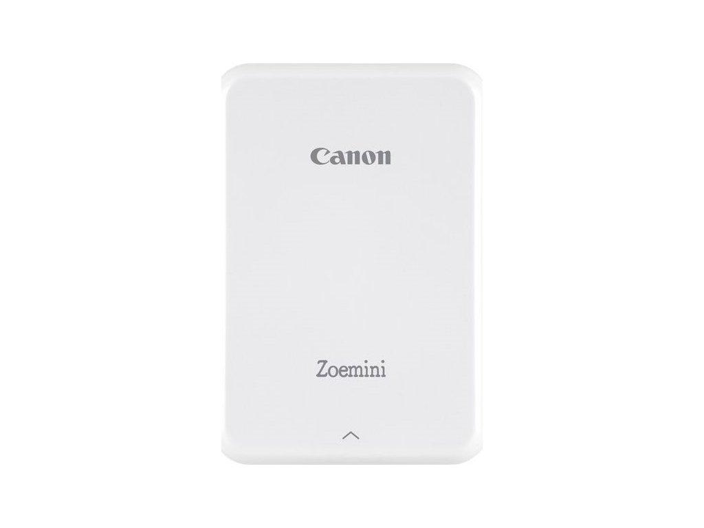 Fototiskárna Canon Zoemini, bílá/stříbrná
