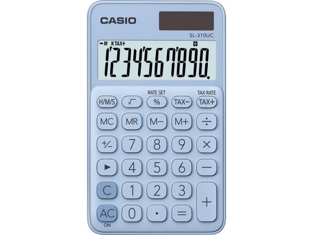 Kalkulačka Casio SL 310 UC LB - světle modrá