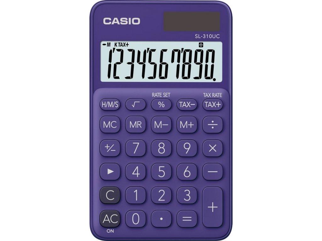 Kalkulačka Casio SL 310 UC PL - fialová