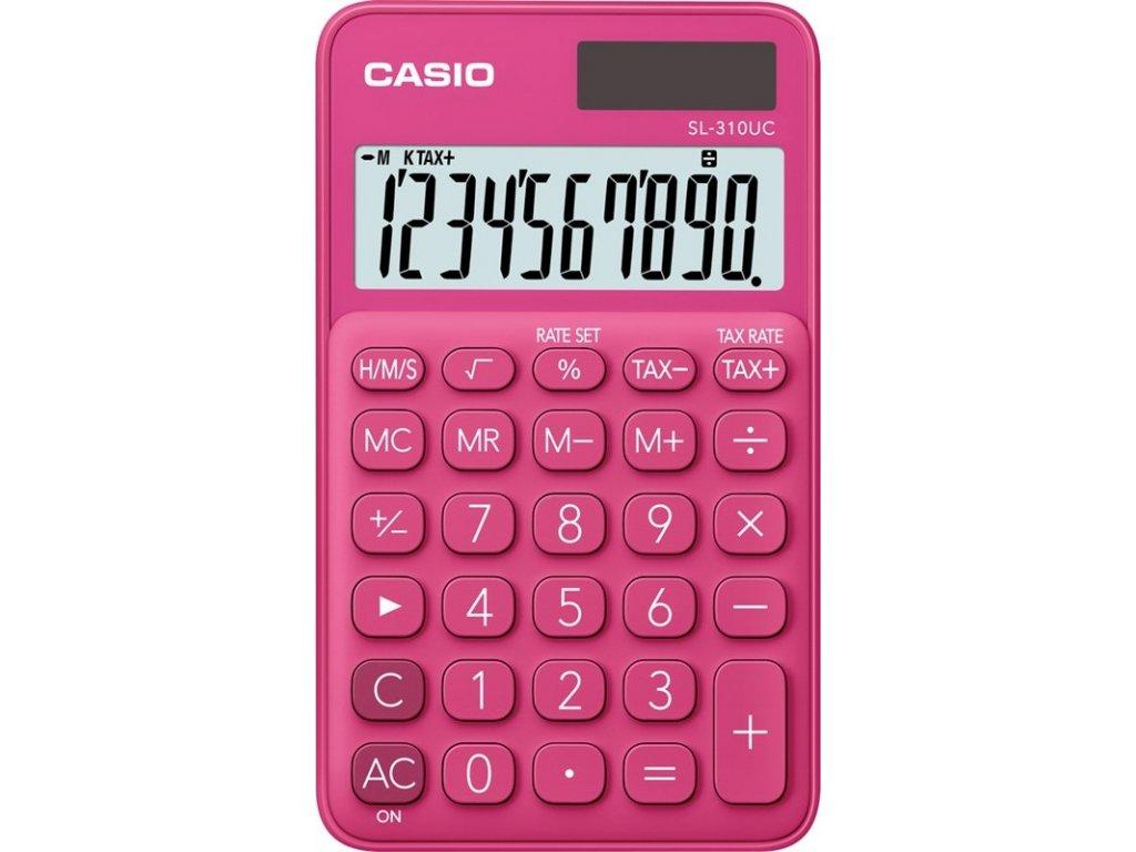 Kalkulačka Casio SL 310 UC RD - červená