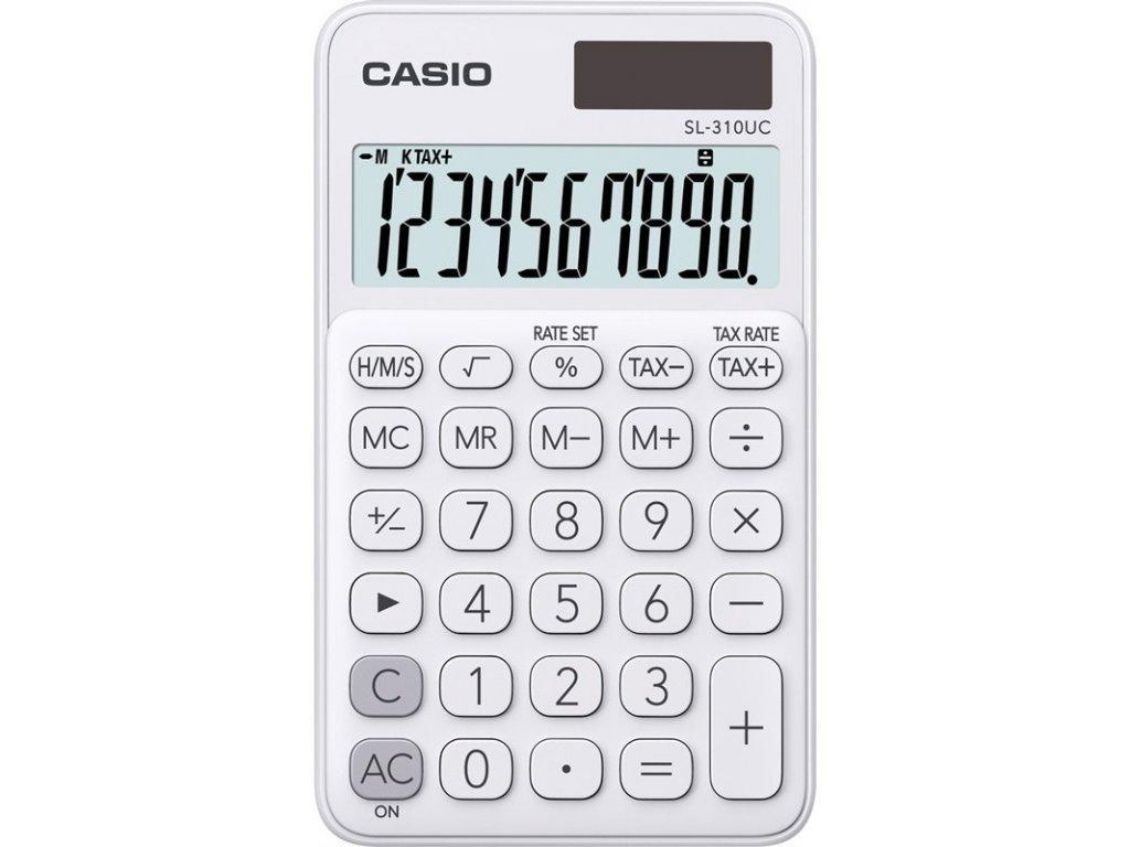 Kalkulačka Casio SL 310 UC WE - bílá