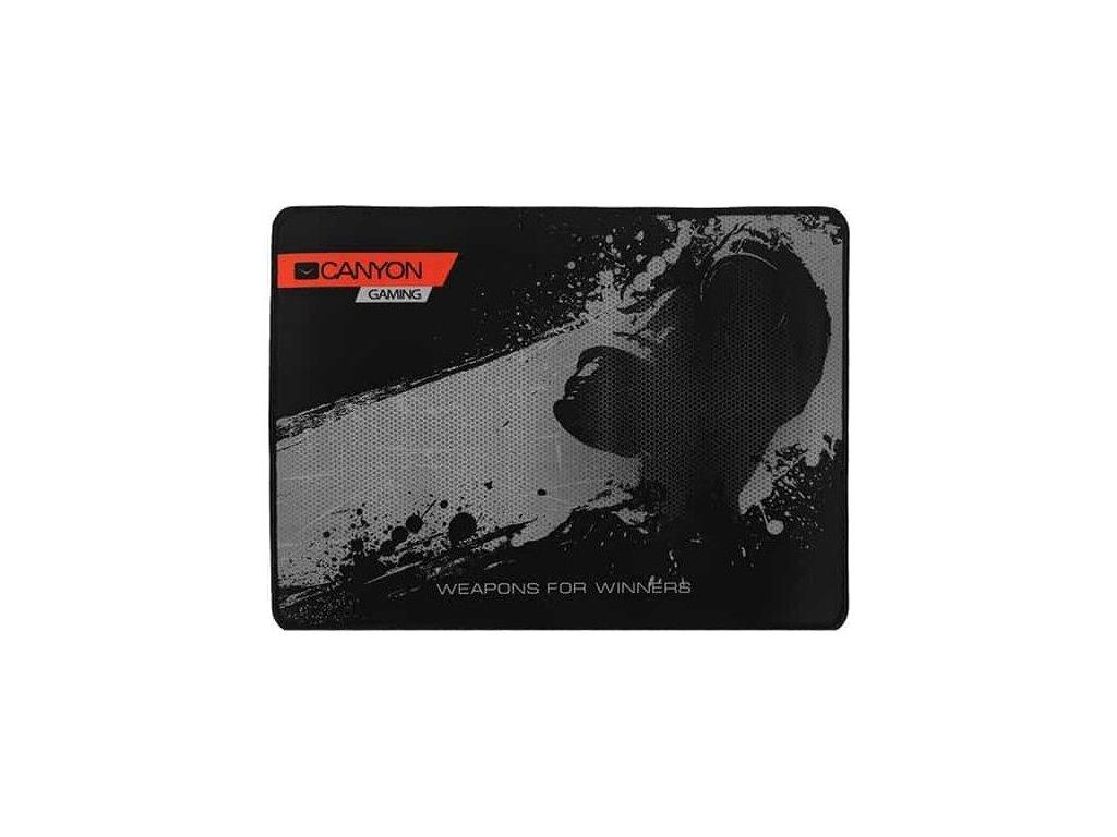 Podložka pod myš Canyon MP-3, 35 x 25 cm - černá
