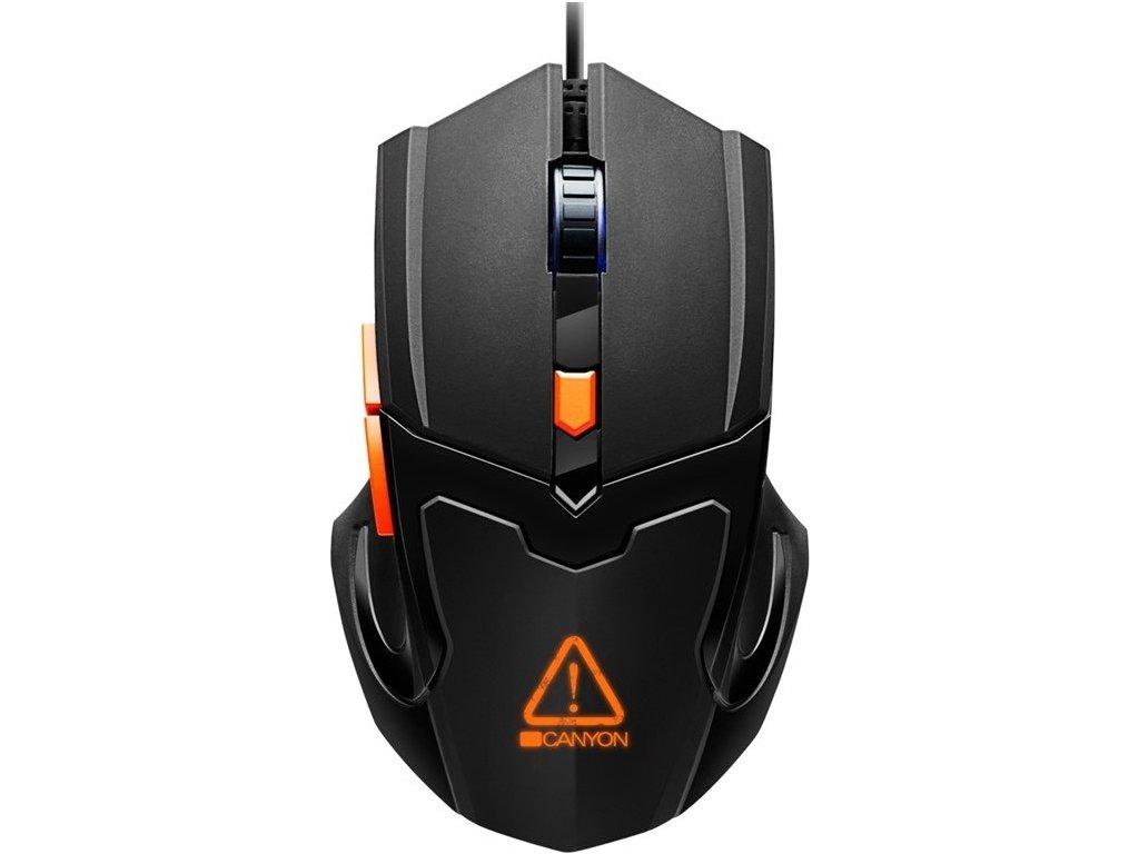 Myš Canyon Vigil / optická/ 6 tlačítka / 3200DPI - černá