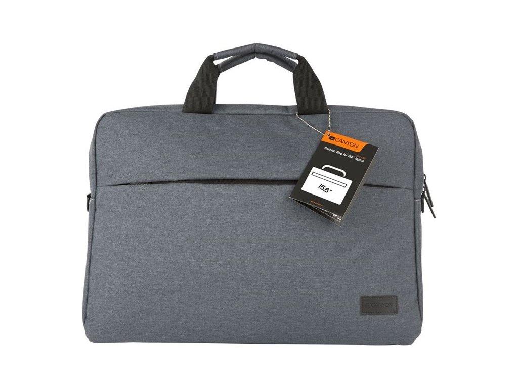"""Brašna na notebook Canyon Elegant pro 15.6"""" - šedá"""