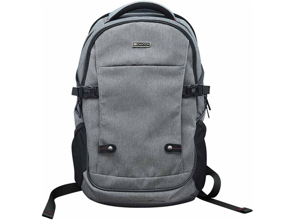 "Batoh na notebook Canyon Spacious pro 15.6"" - šedý"