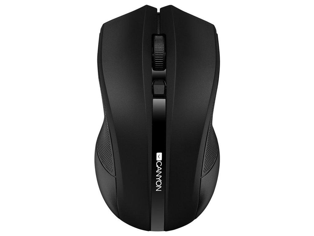 Myš Canyon CMSW05 / optická / 4 tlačítka / 1600dpi - černá