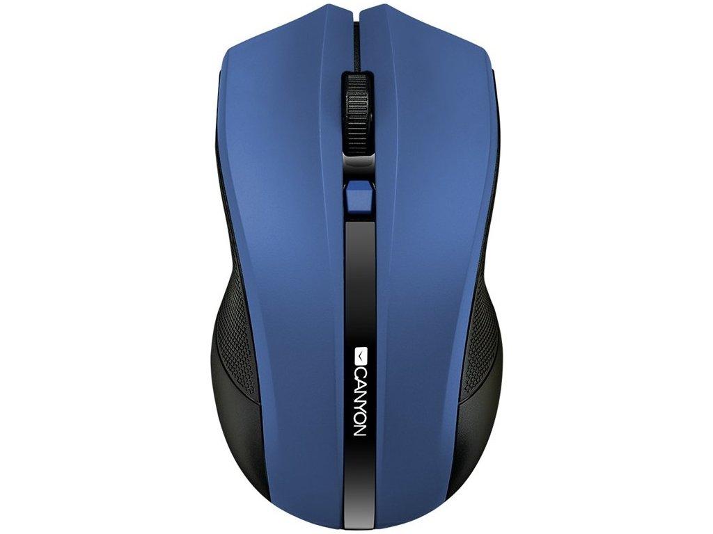 Myš Canyon CMSW05 / optická / 4 tlačítka / 1600dpi - modrá