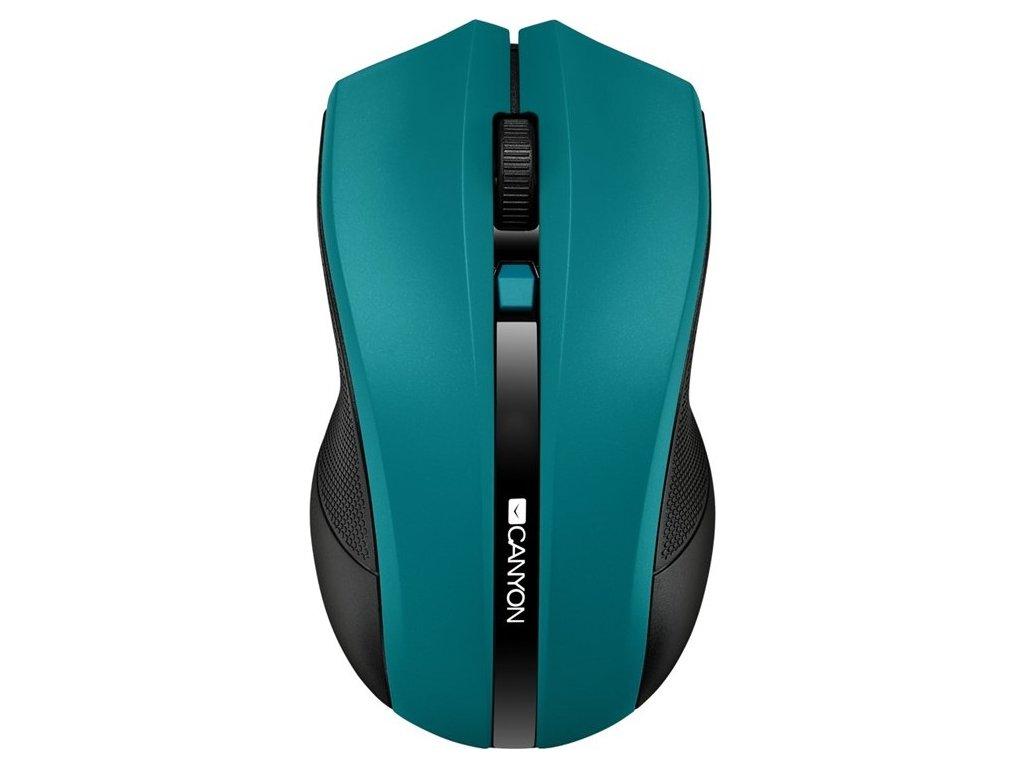 Myš Canyon CMSW05 / optická / 4 tlačítka / 1600dpi - zelená