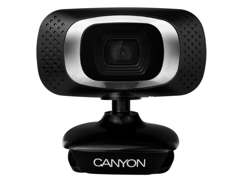 Webkamera Canyon CNE-CWC3N 720p - černá