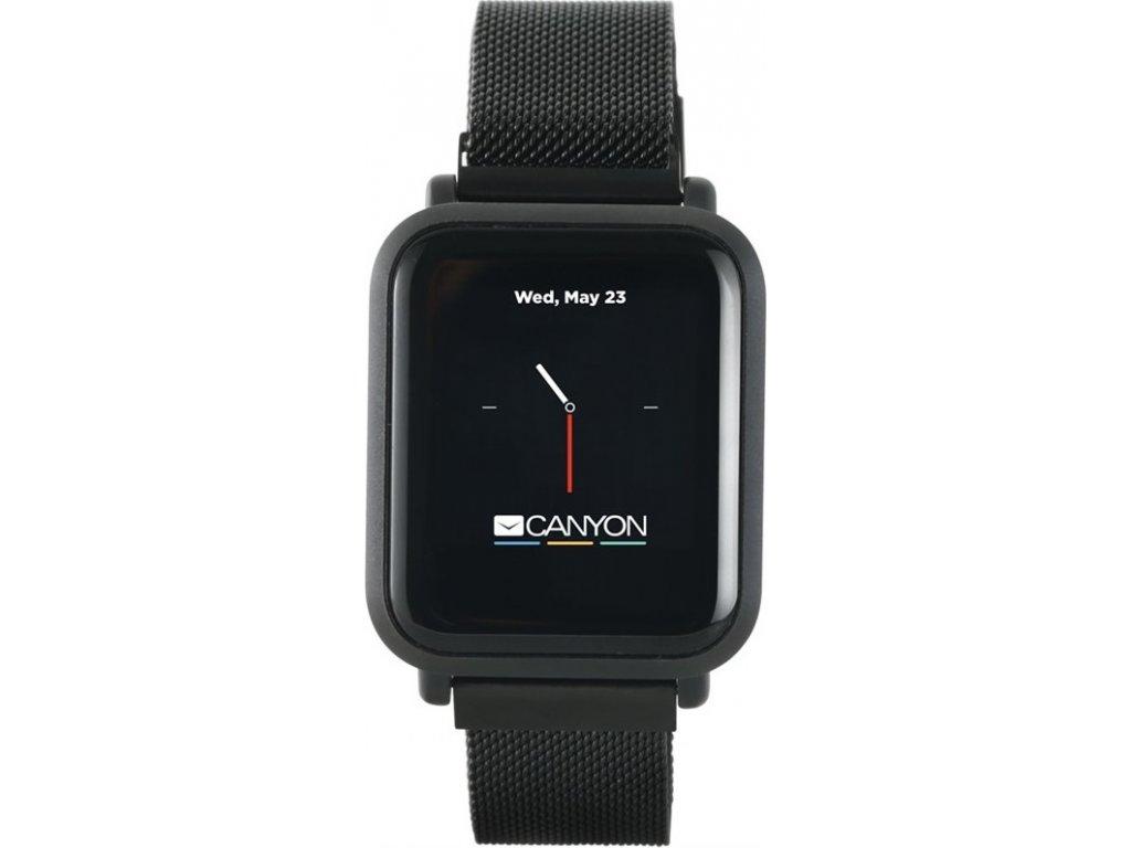 Chytré hodinky Canyon Sanchal - černý